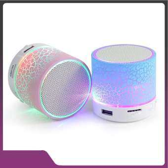 High Quality ลำโพงบลูทูธ Mini Wireless Bluetooth LED Speaker{BLUE}-
