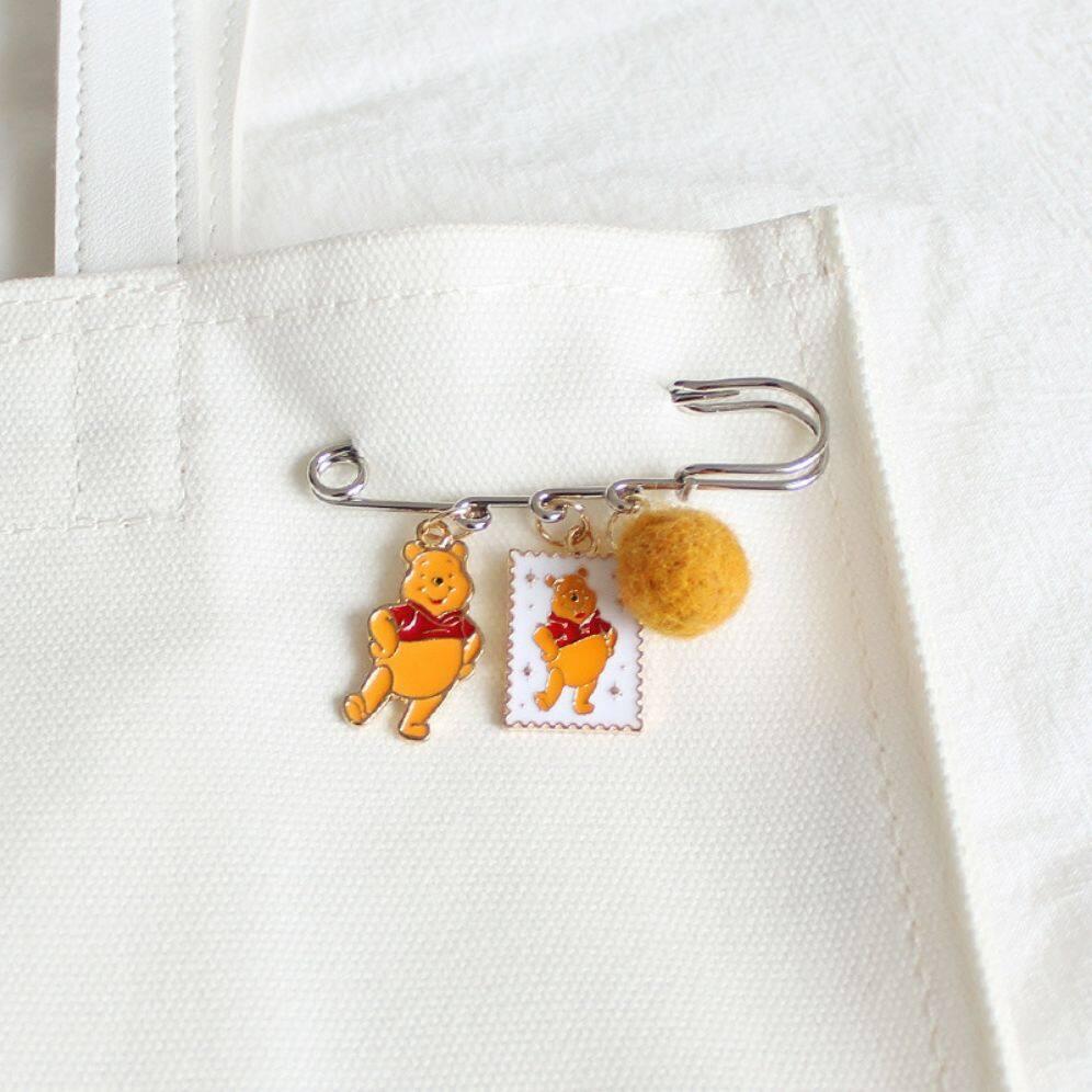 เข็มกลัดคนท้องน่ารักๆ Pooh.