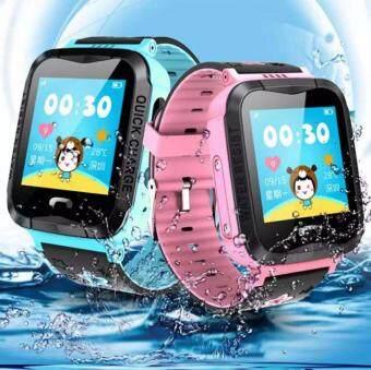 นาฬิกา GPS ของเด็ก นาฬิกาโทรศัพท์ ป้องกันเด็กหาย รุ่นV5G Smart Watch With  GPS Camera Anti Lost Monitor SOS Waterproof Kids Watch