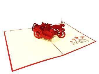Handmade Card Popup 3Dการ์ดอวยพร ป๊อบอัพ3มิติ รุ่น CL007