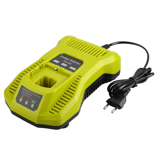 Dual Chemistry IntelliPort Charger for All Ryobi 12V-18V ONE+ Lithium Battery & NiCad Universal Battery Charger Ryobi One + P104 P105 P102 P103 P107 P108 18V Tools