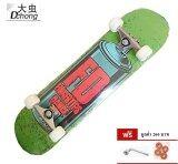 ราคา Dchongสเก็ตบอร์ดรุ่น Green Fd Large Spray Painting นน2 7 กก แถมฟรี อุปกรณ์ Skateboard กรุงเทพมหานคร