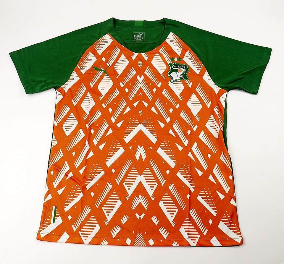 เสื้อทีม Ivory Coast Home 2019-2020 By Club Shirt And National Team.