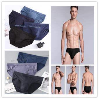 Esuna shop กางเกงในชาย ผ้านิ่ม ใส่สบาย ขอบไม่เจ็บ ของแท้100%