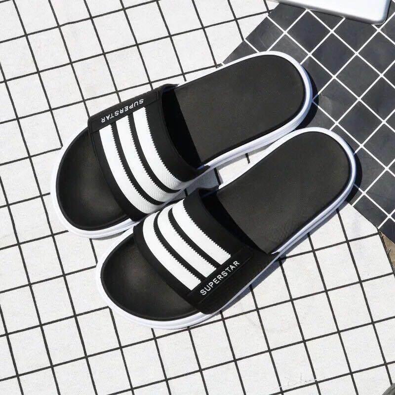 รองเท้าแตะ รองเท้าแตะแบบสวม ใส่สบาย รองเท้าแตะแฟชั่น รองเท้าแตะคู่รัก.