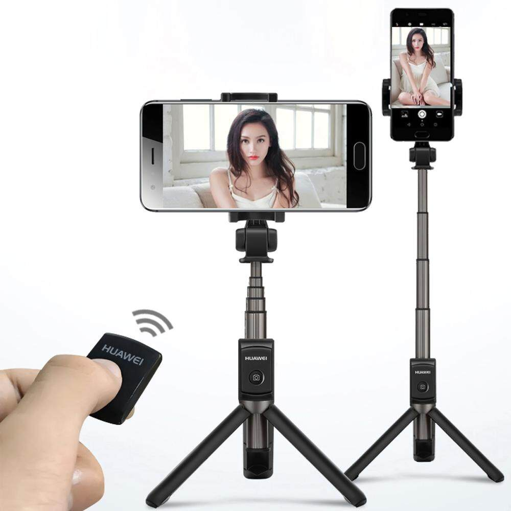 Huawei Af15 ไม้เซลฟี่แบบพกพาselfie Stick Tripod Portable Wireless Bluetooth Monopod.