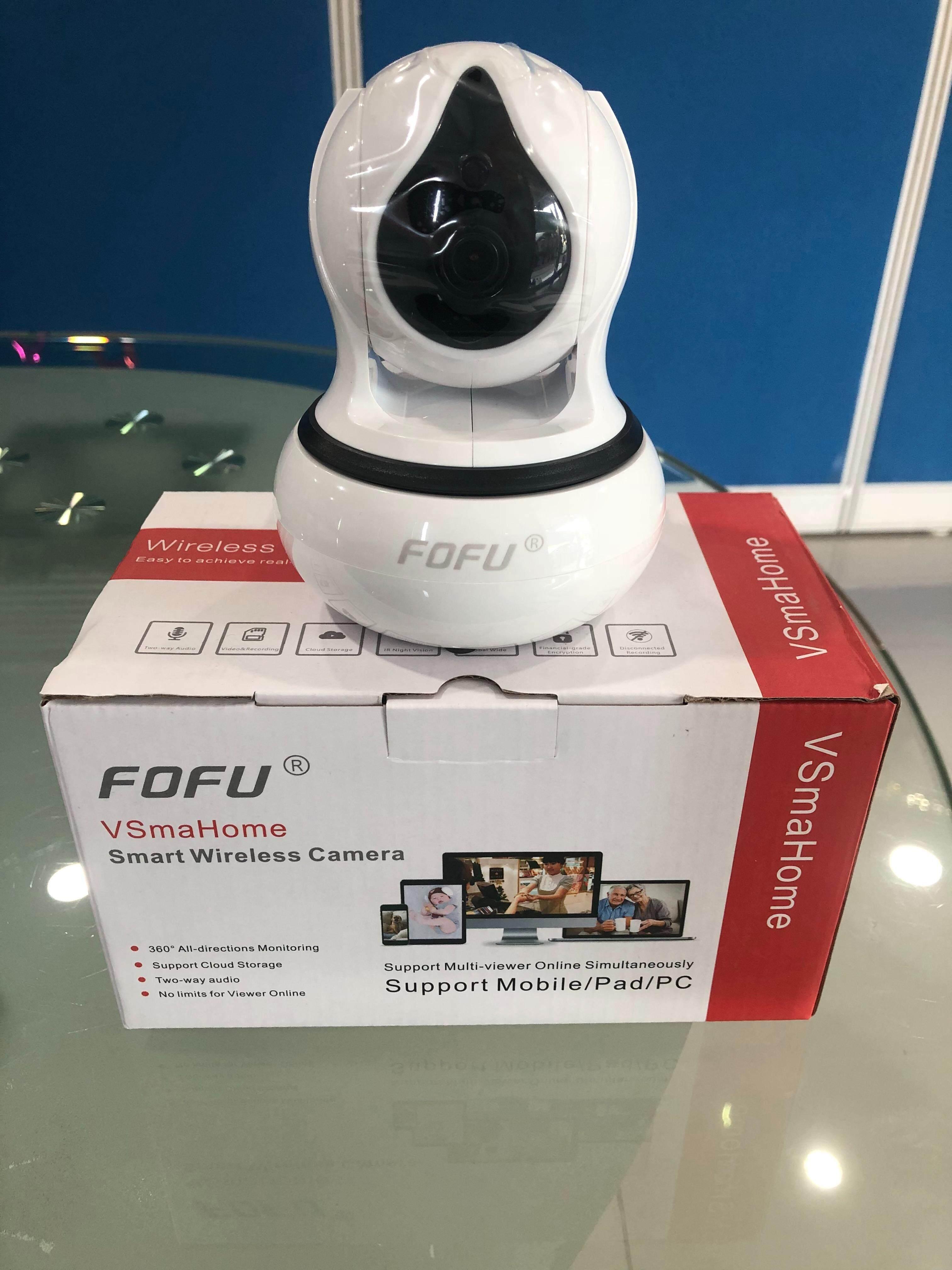 กล้องโรบอท Fofu Ip Smart Camera รุ่น Ff-8120wp/w ความละเอียด 1 ล้าน เมกกะพิกเซล เชื่อมต่อได้ง่ายผ่าน Wifi โดยไม่ต้องเดินสายแลนด์ By Farcom Electronic Technology Co.,ltd..