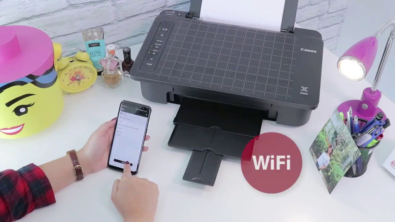 Printer Canon Pixma Ts307 +tank Wifi.