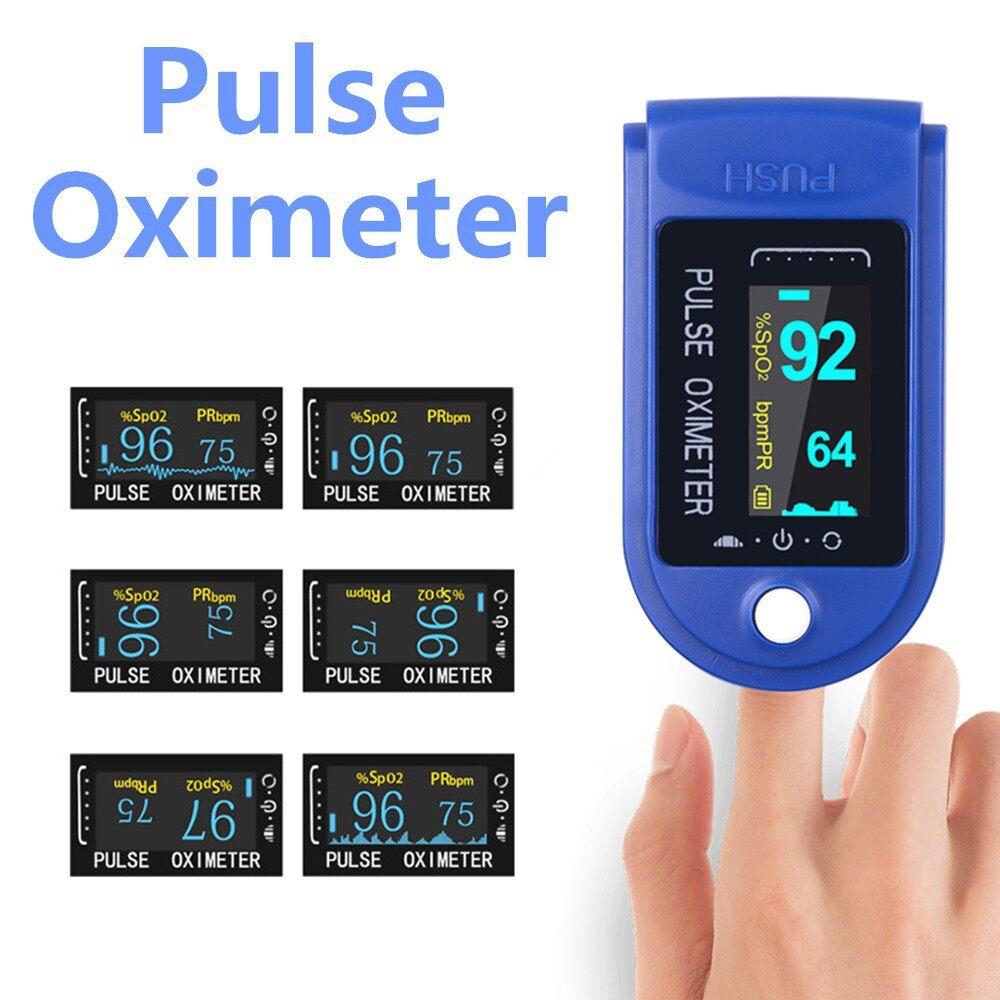 Oximeter Mini เครื่องวัดออกซิเจน มีการรับประกัน เครื่องวัด Oxygen เครื่องวัดออกซิเจนปลายนิ้ว Fingertip Pulse Oximeter.
