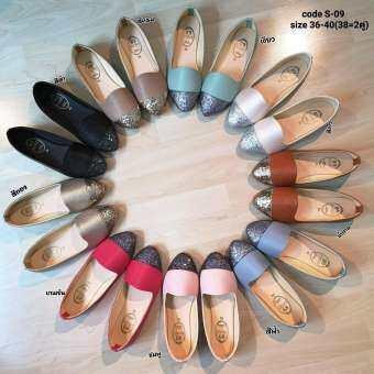 รองเท้าแฟชั่นผู้หญิง**รองเท้าคัชชู ใส่ทำงาน ใส่ไปเรียน ใส่ไปเที่ยว สบายเท้ามีเบอร์36-40(ร้านจะจัดคละสีคละแบบ ในกรณีสินค้าหมดนะค่**)-
