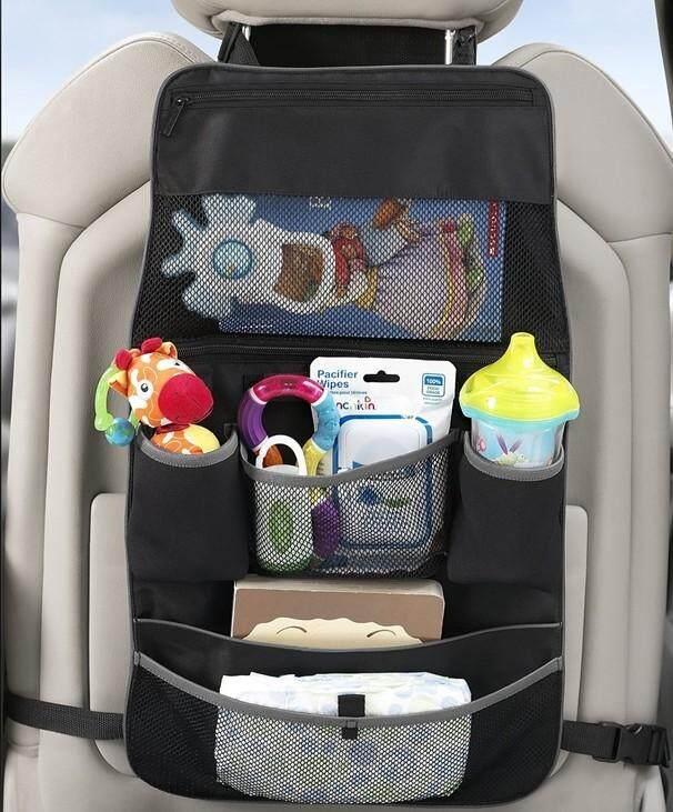 munchkin กระเป๋าเก็บของหลังเบาะรถยนต์ กระเป๋าจัดระเบียบในรถ กระเป๋าแขวนหลังรถเข็น