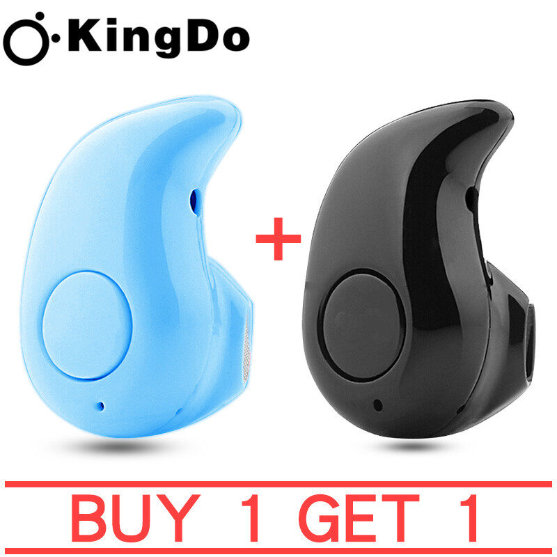 'Sunnyside Ph' ซื้อ 1 แถม 1 2PCS KingDo S530 Wireless Bluetooth Headphones Quality stereo headphones, play music, listen to music, have a mic, answer calls, hang up calls Small, fits in your ear