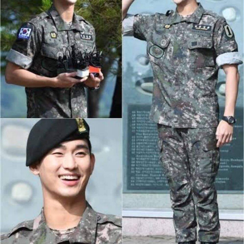 กางเกงทหารเกาหลีแท้  มื้อ2  สภาพใหม่ๆๆ ไม่มีตำนิ สีสด สวย สี ลายพราง
