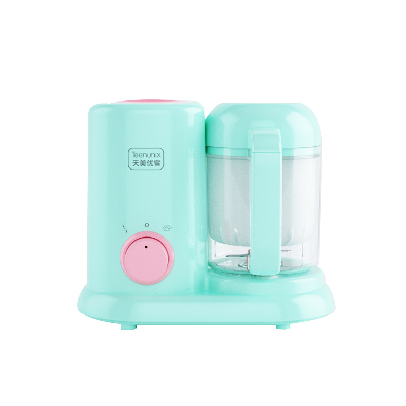 ซื้อที่ไหน 【มีสินค้าในสต๊อก】เครื่องปั่นอาหารเด็ก BPA FREE ตัวเครื่องสแตนเลส 304 สามารถใช้โดยผู้สูงอายุและเด็ก