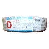 ราคา Deema Cable สายไฟ Vaf ขนาด 2X1 5 ทองแดงแท้ ยาว100เมตร Deema Cable เป็นต้นฉบับ