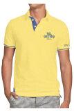 ราคา Delon เสื้อโปโลทรงพระเจริญ At56003 สีเหลืองปักน้ำเงิน Delon