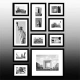 ราคา Designer 8085 Diy Black Photo Frame In Collage 10 Of Set Unbranded Generic เป็นต้นฉบับ