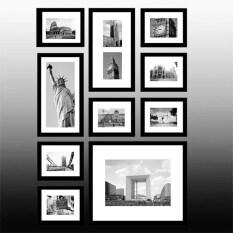 ราคา Designer 8085 Diy Black Photo Frame In Collage 10 Of Set ใน จีน