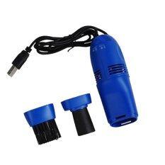 ส่วนลด Desktop Keyboard Vacuum Cleaner เครื่องดูดฝุ่นจิ๋วต่อ Usb ทำความสะอาดคีย์บอร์ด Blue กรุงเทพมหานคร