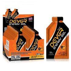 ส่วนลด Dever เจลให้พลังงาน สำหรับนักกีฬา รสส้ม 40 Ml แพค 24 Dever ใน กรุงเทพมหานคร