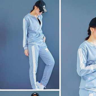 Adidasผู้หญิงแฟชั่น Adidas Fashion casual comfort Women One Set