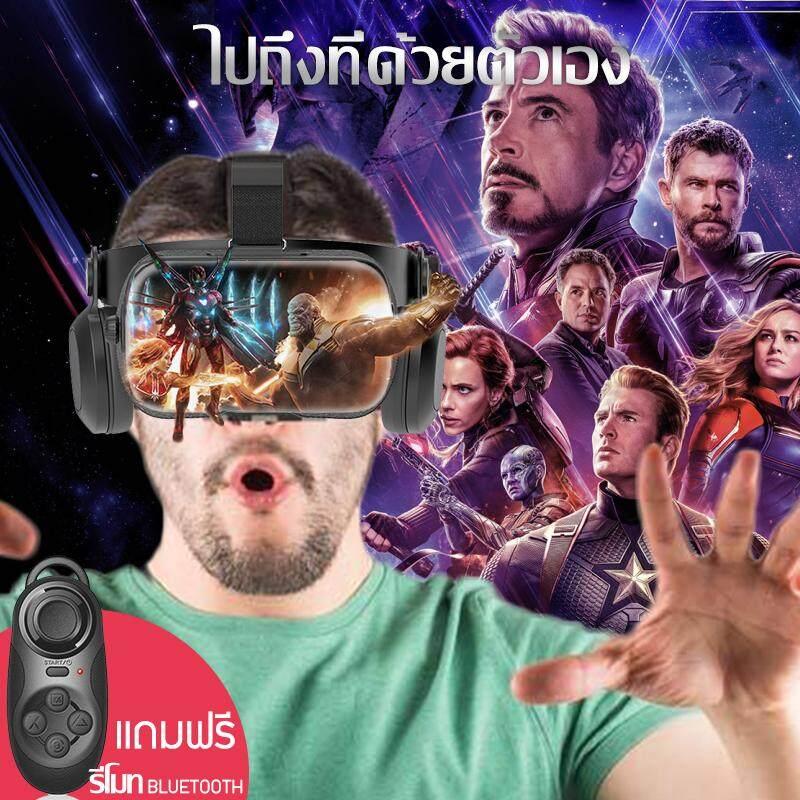 แว่นvr Bobovr Z5 ของแท้100% Vr Box แว่นตาดูหนัง 3d อัจฉริยะ สำหรับสำหรับ Smart Phoneทุกรุ่น Movies Games แถมฟรีรีโมทคอนโทรลมือถือ Vr (สีดำ) Beauti House.
