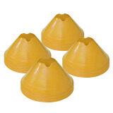 ราคา ดีสเทรนเนอร์โคน กรวยซ้อมบอล กรวยฝึกซ้อม มาร์กเกอร์โคน สีเหลือง ชุดละ 12 ชิ้น กรุงเทพมหานคร