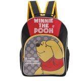 ซื้อ Disney Winnie The Pooh กระเป๋าเป้ กระเป๋านักเรียนสะพายหลัง สีดำคาดเหลือง Winnie And The Pooh ออนไลน์