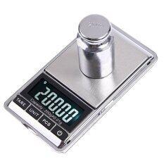 ซื้อ Djshop Jewelry Scaleเครื่องชั่งทองดิจิตอล200G 01Gรุ่นDs 16 ออนไลน์