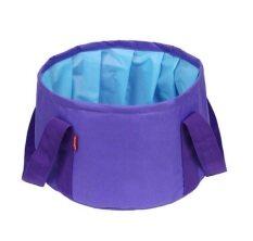 โปรโมชั่น Djshop กระเป๋าใส่น้ำ พับเก็บได้ ขนาด 15L สีม่วง Violet Djshop ใหม่ล่าสุด