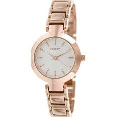 ราคา Dkny Silver Dial Rose Gold Tone Stainless Steel Ladies Watch Dkny กรุงเทพมหานคร