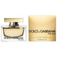 ซื้อ Dolce And Gabbana The One For Women Edp 75 Ml ใหม่ล่าสุด