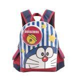 ขาย Doraemon กระเป๋าเป้ กระเป๋านักเรียน กระเป๋าสะพายหลัง สีกรมคาดแดง ออนไลน์ ไทย