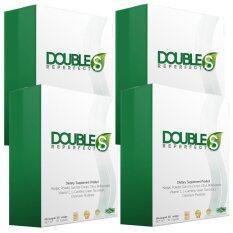ราคา Double S ผลิตภัณฑ์เสริมอาหารควบคุมน้ำหนัก 30 แคปซูล X 4 กล่อง ออนไลน์