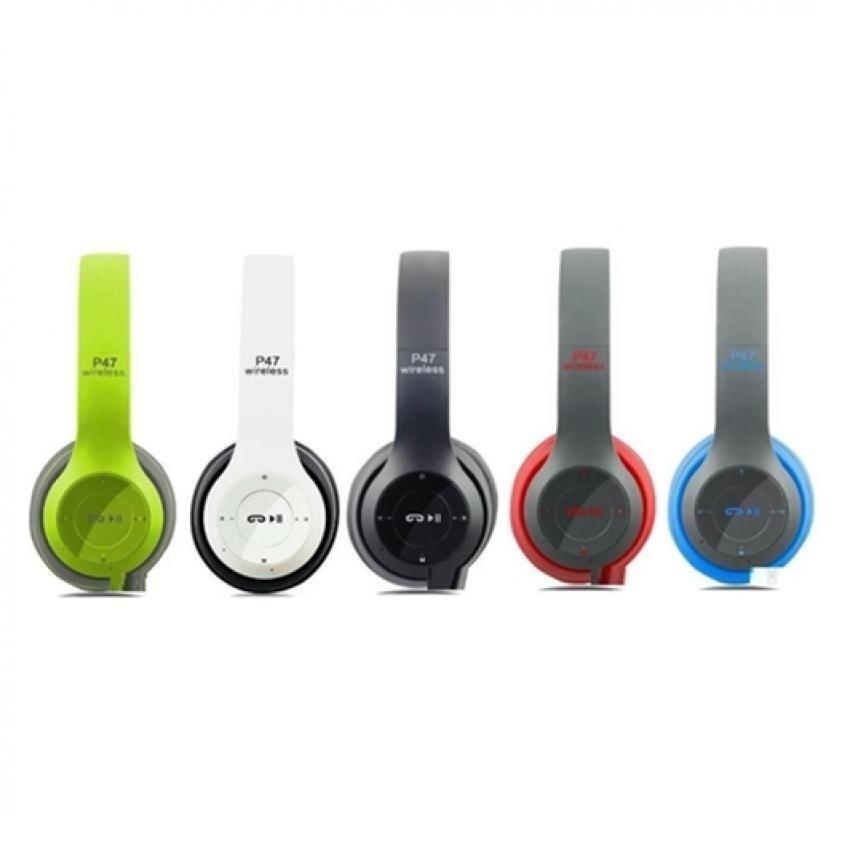 ลดราคา  DT หูฟังบลูทูธแบบครอบหู รุ่น P47 Wireless (สีขาวดำ) ยี่ห้อไหนดีสุด