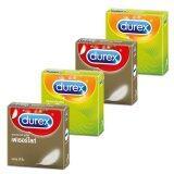 Durex Setถุงยางอนามัย ดูเร็กซ์ เฟเธอร์ไลท์ ดูเร็กซ์ เอ็กซ์ไซตา รุ่นละ2กล่อง ใหม่ล่าสุด