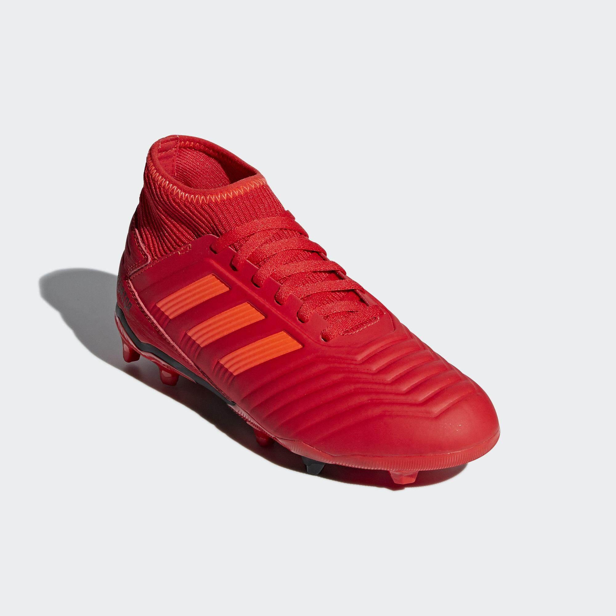 98ef2e14745b Adidas อาดิดาส รองเท้า ฟุตบอลเด็ก Football JUNIOR Shoe Predator 19.3 FG  CM8534 (