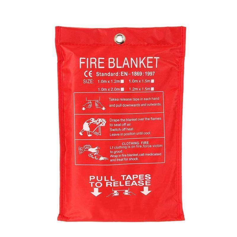 1 M X 1 M Fire Emergency Survival Blanket Fire Shelter Shelter Shack Fire Security Extinguisher R8O4