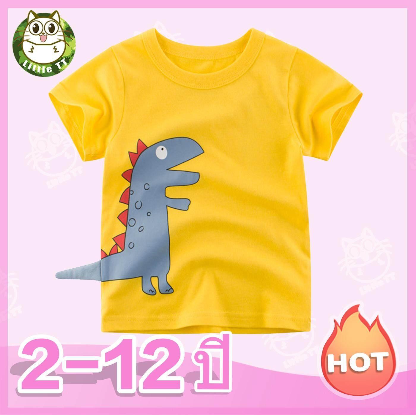 เด็กแขนสั้นเสื้อยืดเสื้อผ้าเด็กเสื้อผ้าเด็กในช่วงฤดูร้อนปี 2019 ต่างประเทศเสื้อเด็กเสื้อเด็ก 2-12 ปี