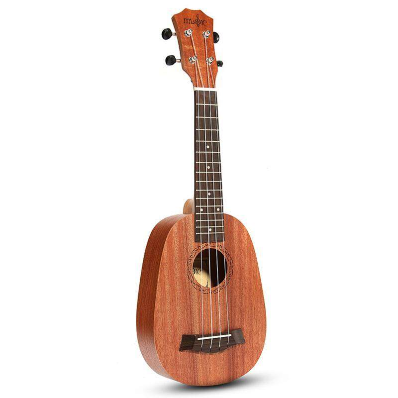 21inch 4 Strings Pineapple Style Mahogany Hawaii Ukulele Uke Electric Bass Guitar For Guitarra Musical Instruments Music Lovers Malaysia