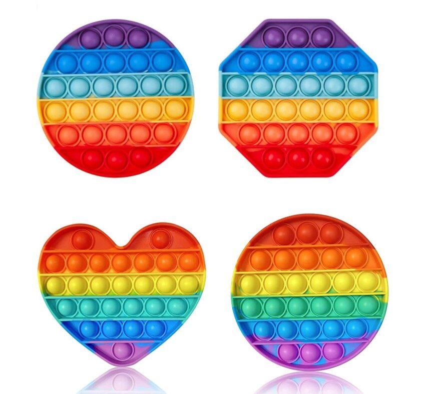 ของเล่นกดบับเบิ้ล Pop It Push Pop Bubble เล่นได้ทุกวัย ยางกด คลายเครียด **ส่งสินค้าจากไทย**.