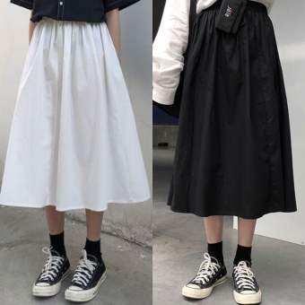 กระโปรงญี่ปุ่น กระโปรงทรงเอ กระโปรงทำงาน skirt กระโปรงเอวสูง K220