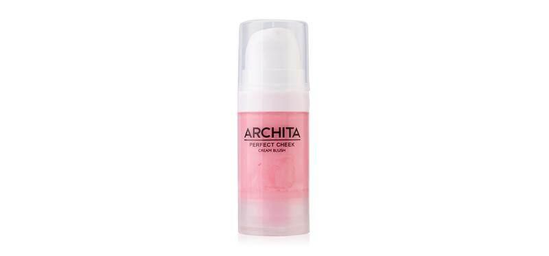 Archita Perfect Cheek Cream Blush 13ml Cherry แก้มสวยไม่มีดรอป ด้วยบลัชออนเนื้อครีม จากอาชิตา เม็ดสีแน่นคมชัดให้สีสวยสม่ำเสมอ ไม่เป็นคราบ เนรมิตพวงแก้มให้ดูสวยโดดเด่น เจิดจรัสได้ตลอดวัน.