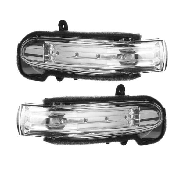 Car Side Marker Light Door Wing Rearview Mirror Turn Signal Indicator Side Light For Mercedes For Benz W203 4Door 2004-2007