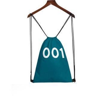 BNHG Mới Cầm tay Polyester Thời trang In màu 3D Túi dây rút Vùng lân cận Trò chơi câu mực thumbnail
