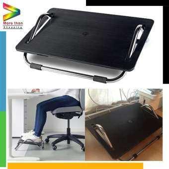 Foot-rest ที่พักเท้า ที่วางเท้า  พลาสติก ABS รุ่น DAGOTTO (สีดำ)-