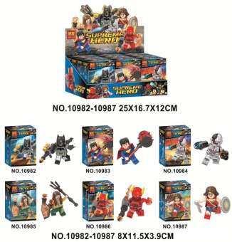 รวมตัวต่อเลโก้ ฮีโร่ชุด 6กล่อง BELA1098-