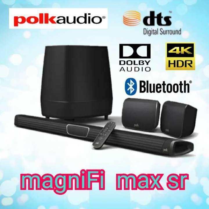 Polk Audio ลำโพงซาวด์บาร์ Soundbar รุ่น MagniFi MAX SR รับประกัน 5ปี ศูนย์ POWER BUY [ส่งสินค้าภายใน 7 วัน] THAIMART ไทยมาร์ท
