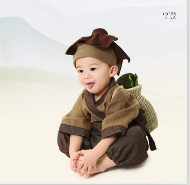 ราคา พร้อมส่ง!! ชุดแฟนซีเด็ก ชุดหลวงจีนวัดเส้าหลิน (Shaolin Monk) Baby Fancy By Tritonshop