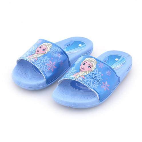 รองเท้าแตะสวมเด็ก รุ่น BC1003 ลายโฟเซนส์ สีฟ้า ขนาด 29